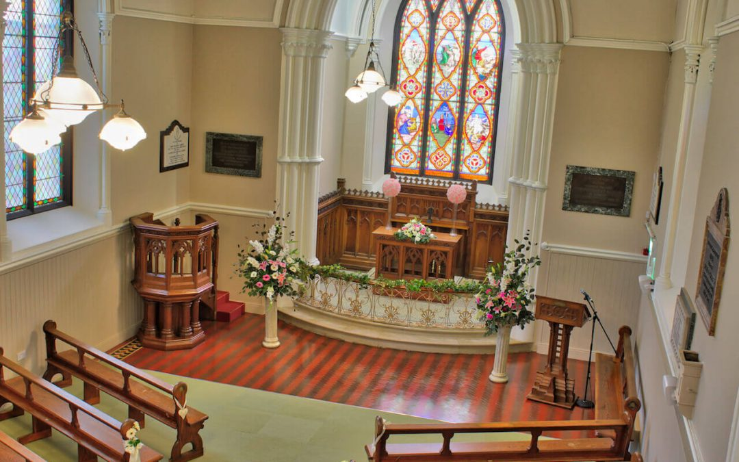 Gerrards Church holds 120